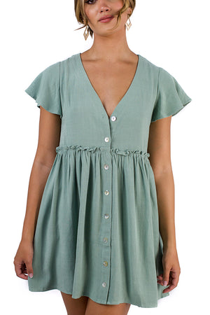 Angels Walk Dress Sage