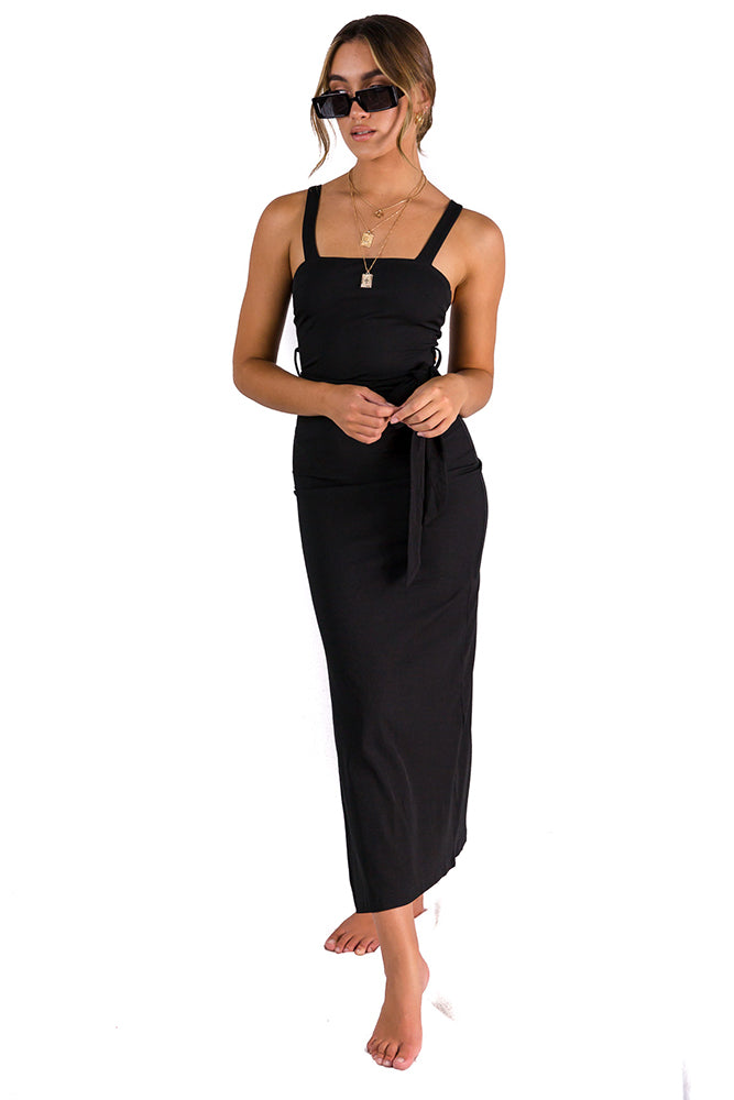 Another Lover Midi Dress Black