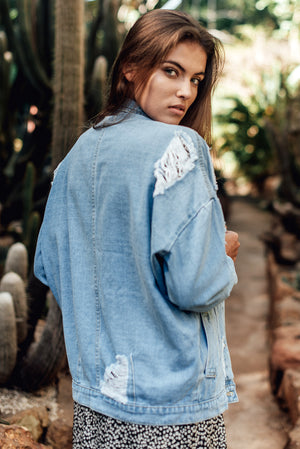 Breakaway Denim Jacket