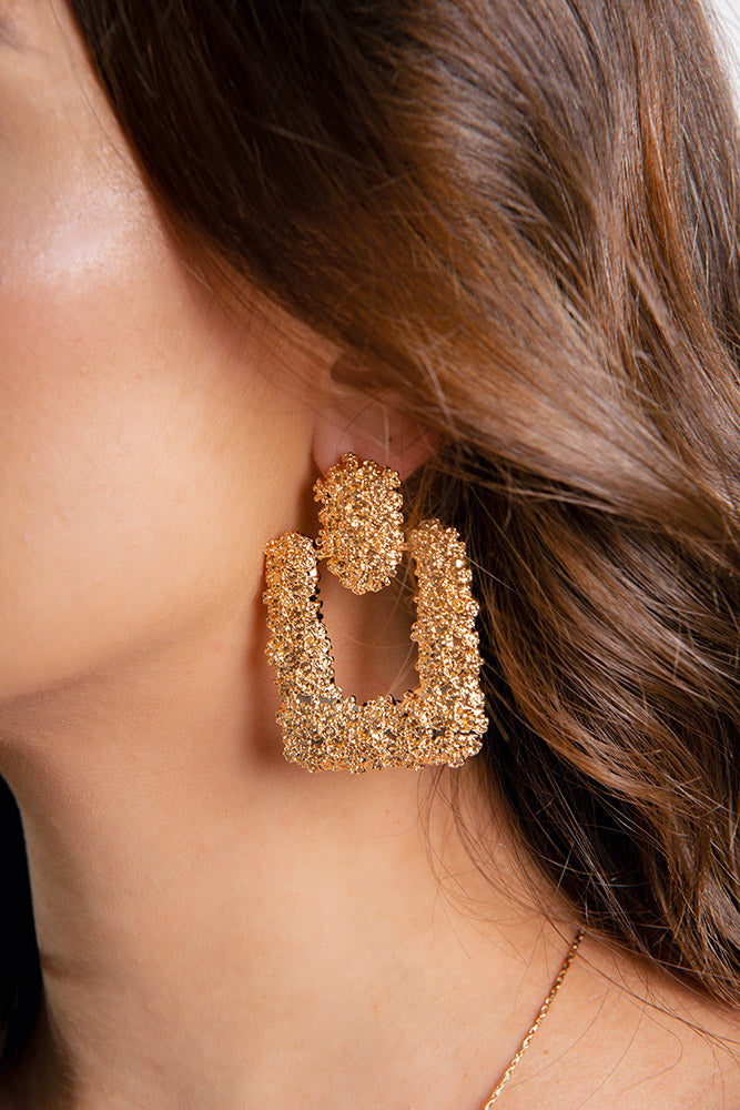 Bullion Baby Earrings Gold