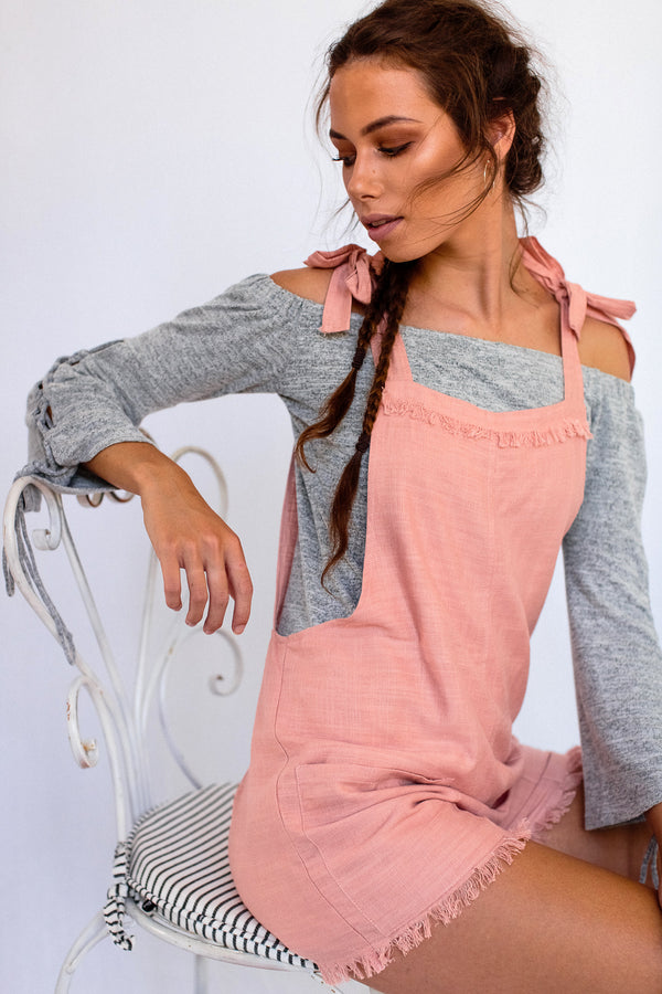 Calypso Dungaree in Pink