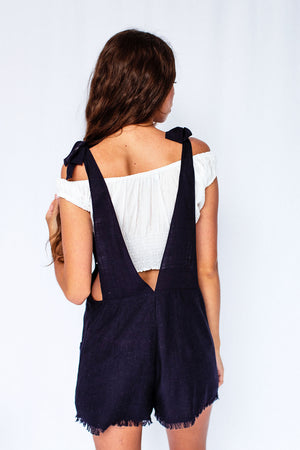 Calypso Dungaree in Navy