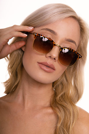 Clean Slate Tan Sunglasses