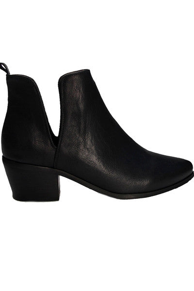 FENWAY BLACK ANKLE BOOT