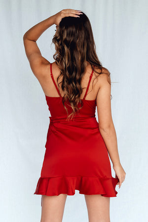 Fire Flow Dress Red