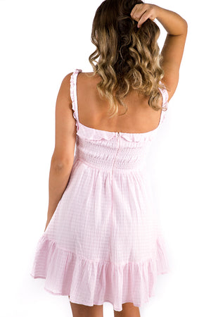 Heart Beat Dress Pink