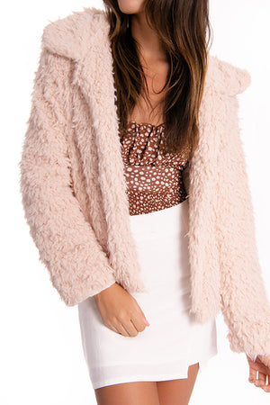 Heaven Sent Fluffy Jacket