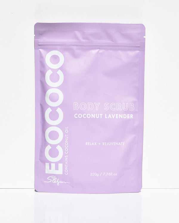 ECO COCO LAVENDAR AND COCONUT SCRUB