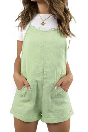 Light Found Dungaree Lime