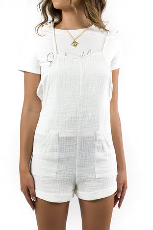 Light Found Dungaree White