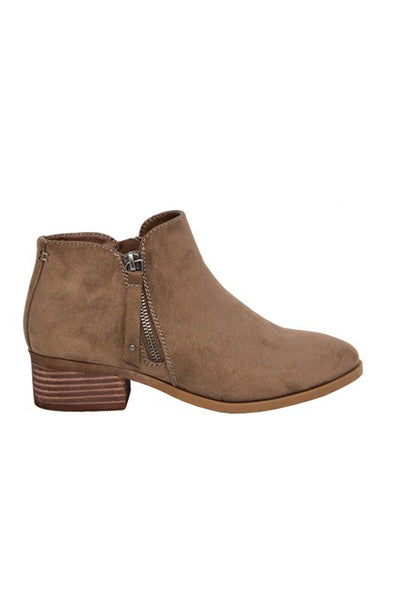 Lockley Taupe Ankle boot