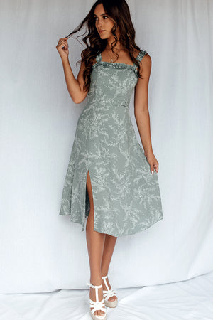 Miracle Love Dress Sage
