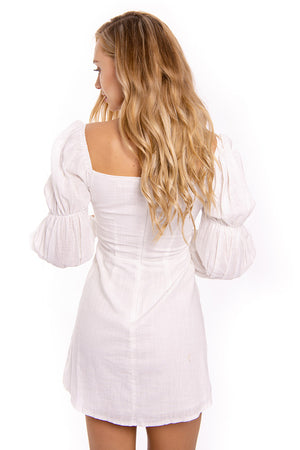 Possibilities Dress White