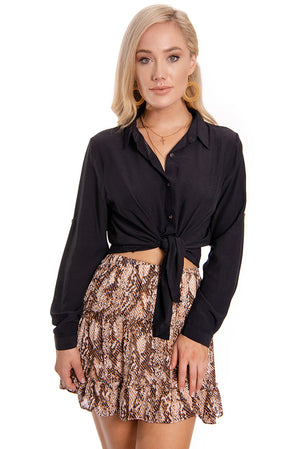 Bright lights Top Black