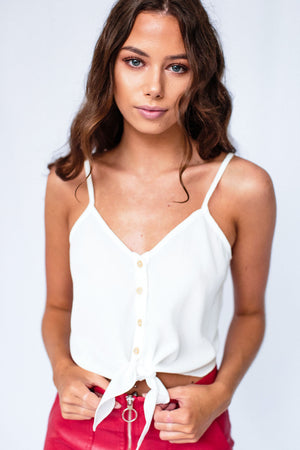 Sarita Top White