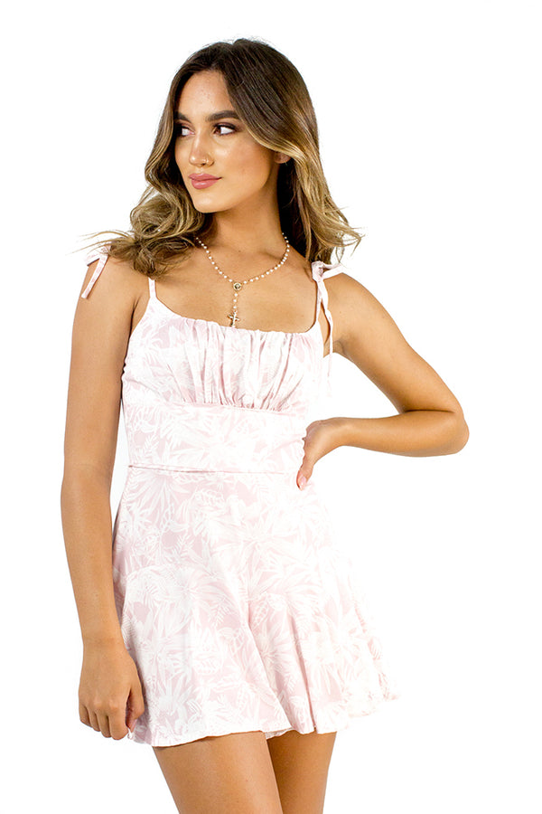 Sunseeker Playsuit Pink