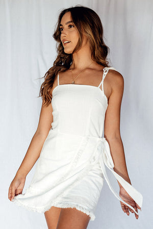 This Heat Dress White