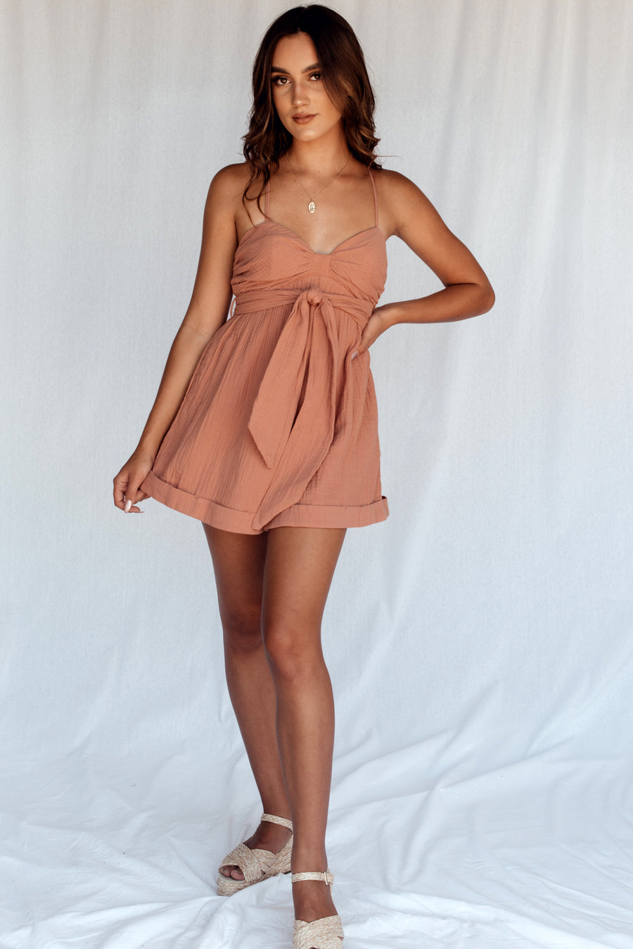 What You Need Playsuit Rose
