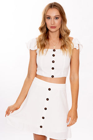 Womans World Top White