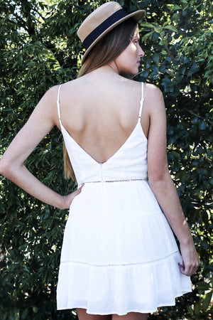 Wonder Rush Dress White
