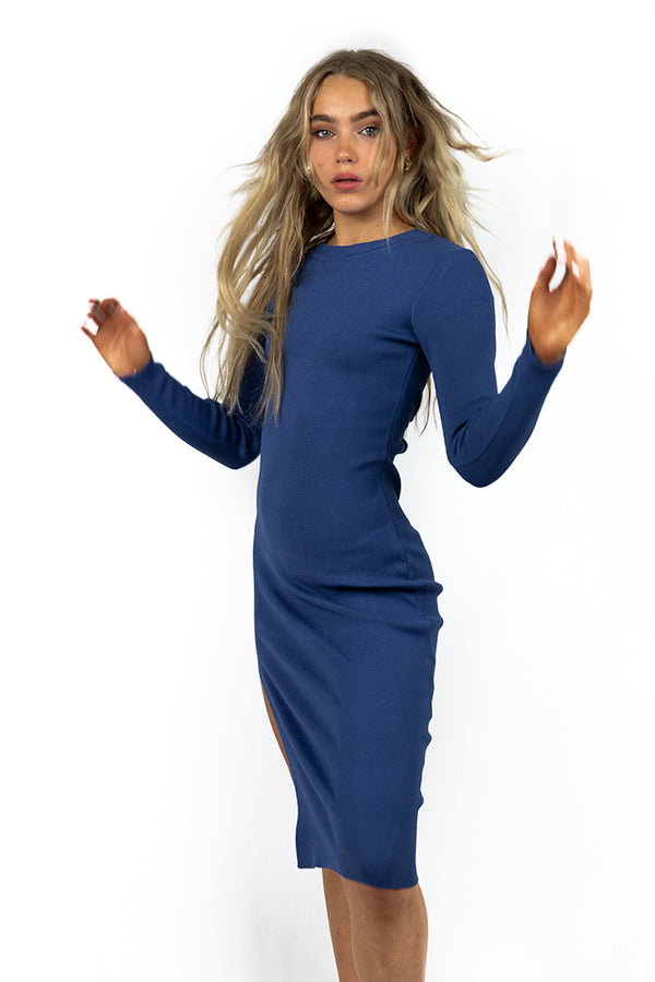 Your the One Navy Midi Dress