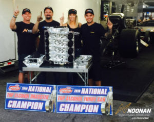 WORLD CHAMPIONSHIP SUCCESS FOUND WITH NOONAN