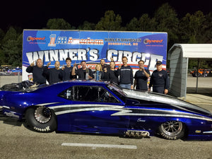 Centrifugal Supercharger World Record Set by Hard Racing's Noonan/ProCharger Pro Mod