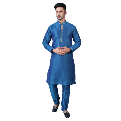 ShalinIndia Indian Dress for Men Kurta Pajama Party Wear for Wedding Anniversary