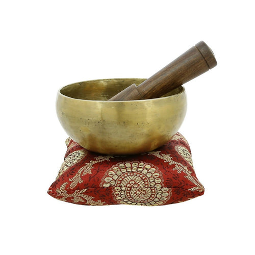 ShalinIndia Bell Metal Tibetan Buddhist Singing Bowl