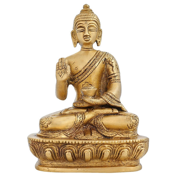Buddhism Symbol Religious Gifts Medicine Buddha Home Décor 5 Inch