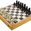 Indian Handmade Stone and Wood Chess Set - Unique Gifts for Kids and Adults chess001