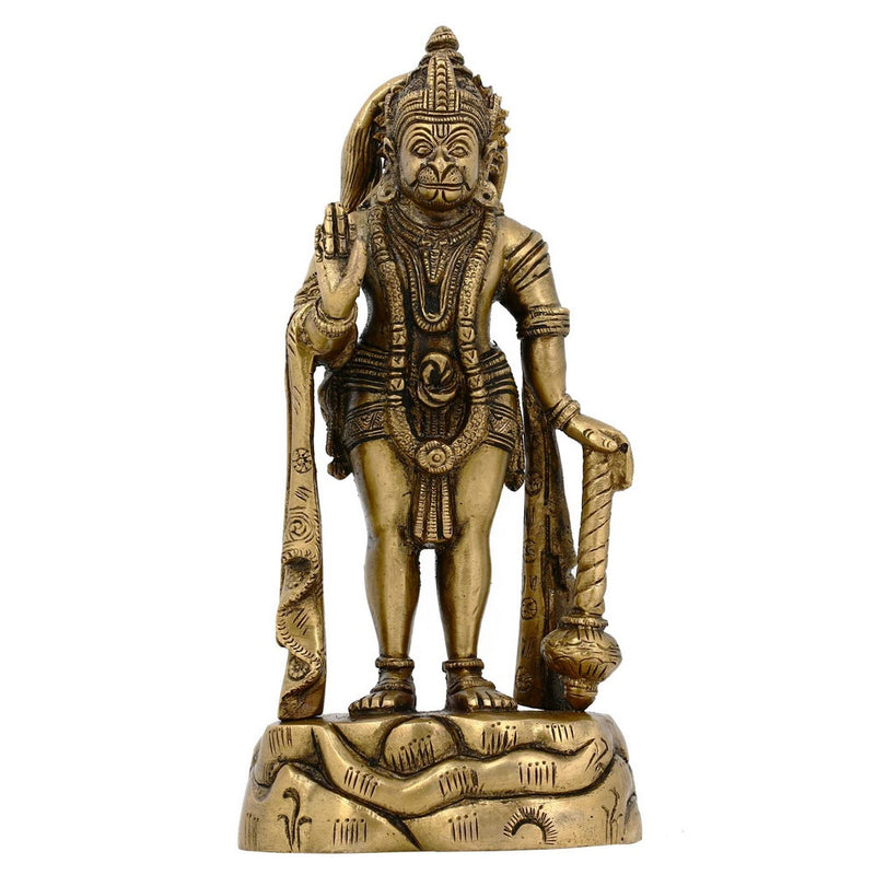 Figurines Collectibles of Lord Hanuman India Statues and Sculptures