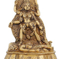 Ma Kali Goddess Statue Hindu Idol for Puja Worship at Home Mandir 7 inch1.5 Kg