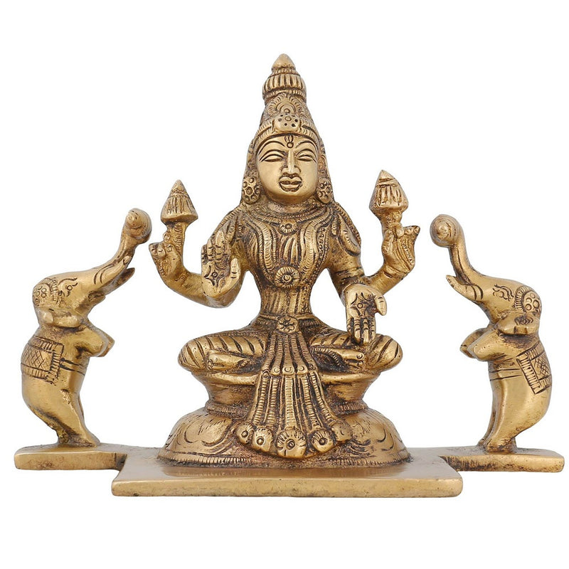 Indian Decoration Religious Statue Hindu Goddess lakshmi idol 5 Inch1.3 Kg
