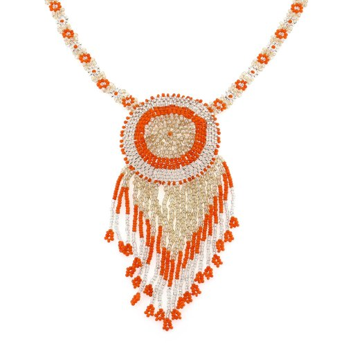 Fashion Jewelry for Women Necklace Indian Bollywood Style Beaded Choker Necklace