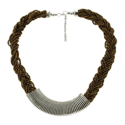 Multi-Strand Rope Necklace Contemporary Fashion Jewelry for Women