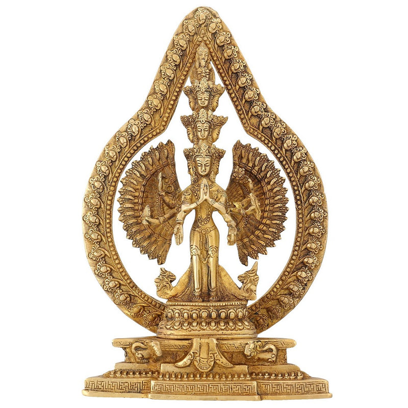 Buddha Tara Statue Buddhist Figurine And Sculpture For Home Brass 12 inch2.8 Kg