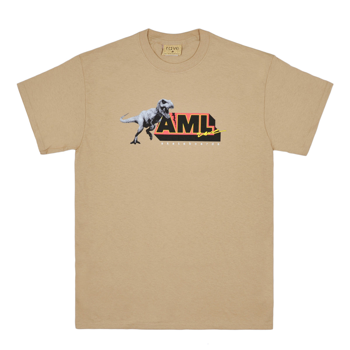 AML sand tee - RAVE skateboards