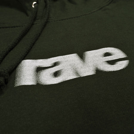 BLURRY forest hoodie - rave skateboards
