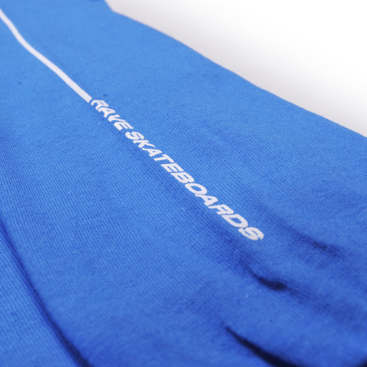CAVENDOLI royal blue LS tee - RAVE skateboards