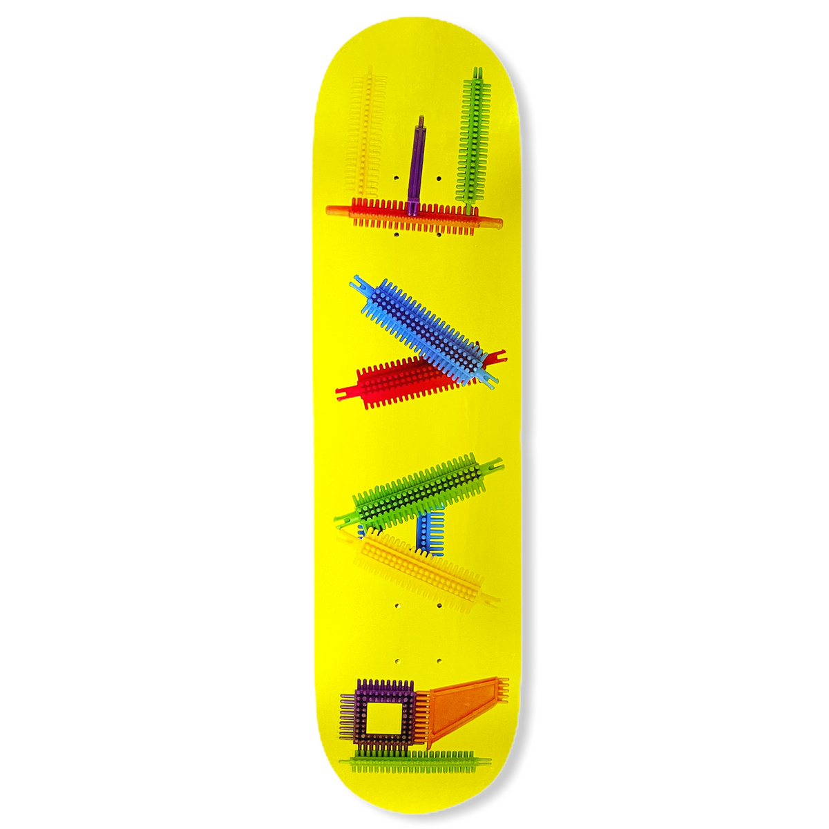 CLIPO YELLOW board - RAVE skateboards