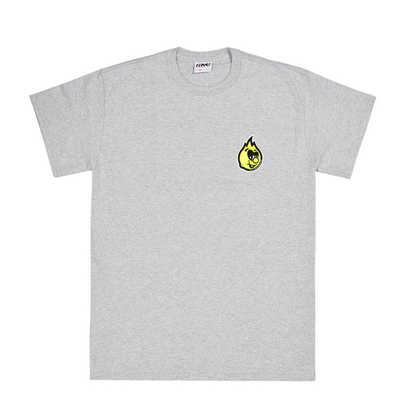 EGGBOY grey tee - rave skateboards