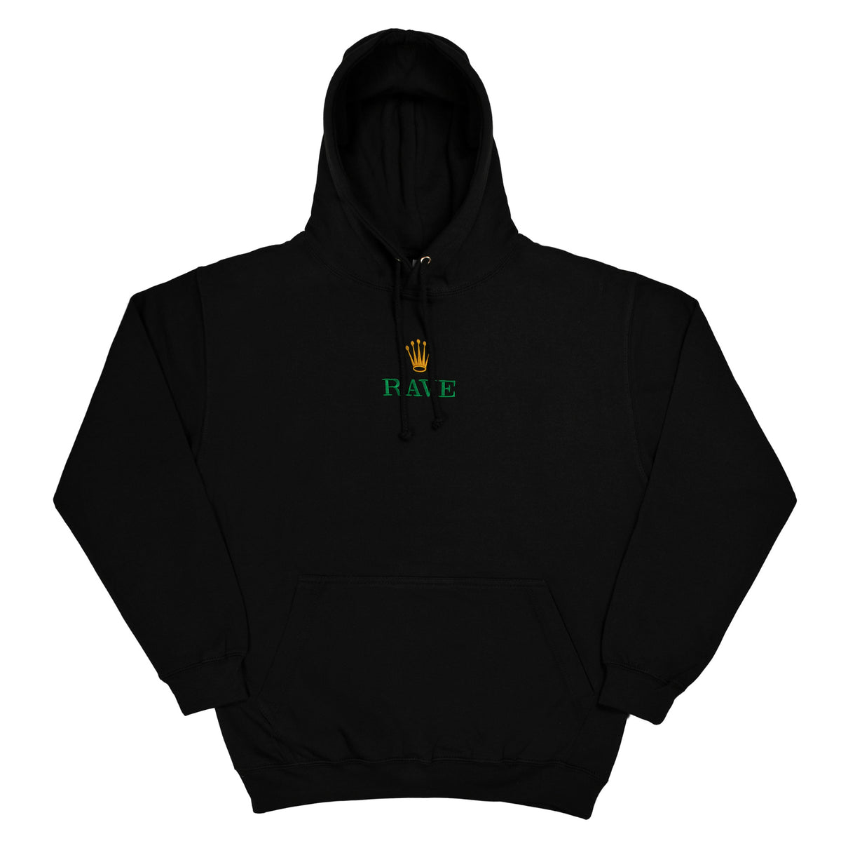 GMT black hoodie - RAVE skateboards