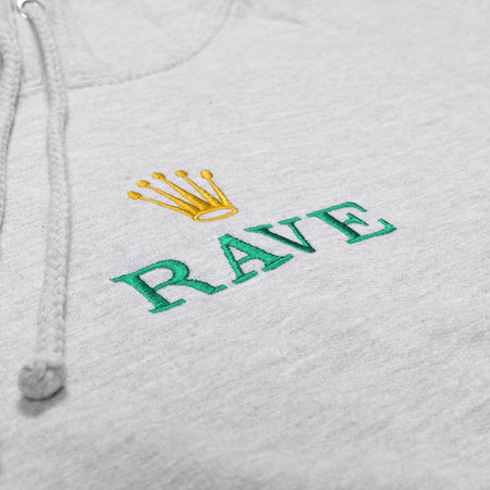 GMT grey hoodie - RAVE skateboards