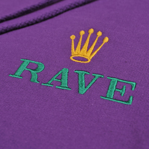 GMT purple hoodie - rave skateboards