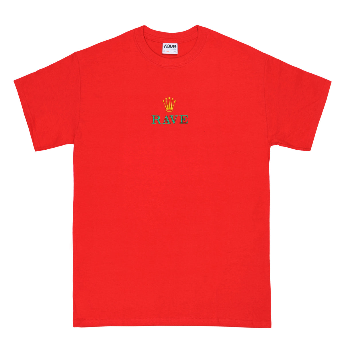 GMT red tee - RAVE skateboards