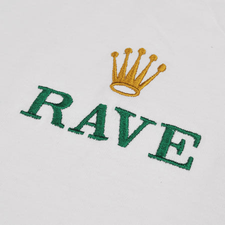GMT white tee - RAVE skateboards