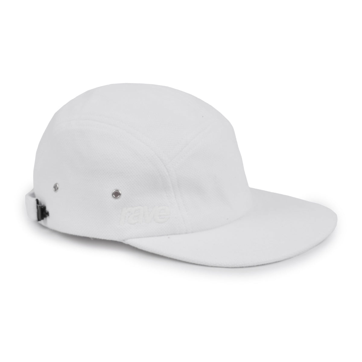 GRAND SLAM white cap - RAVE skateboards