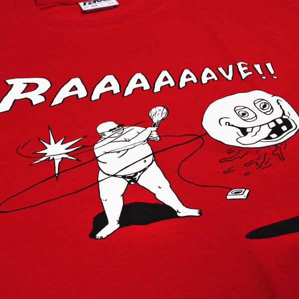 JOKARI red tee - rave skateboards