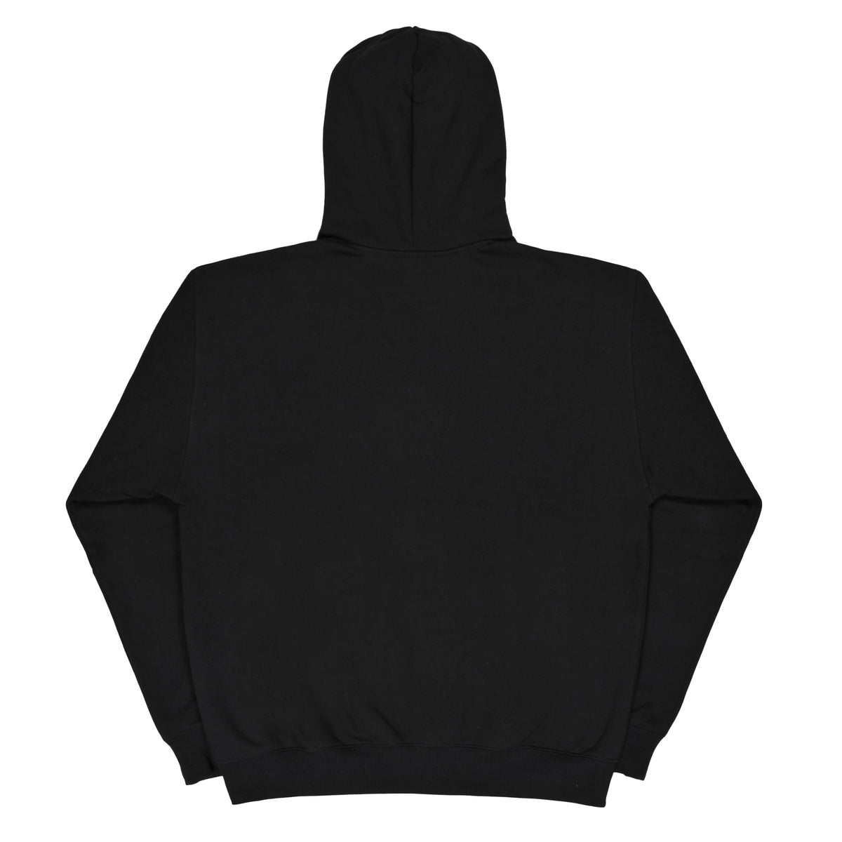 PUFF LOGO black hoodie - RAVE skateboards